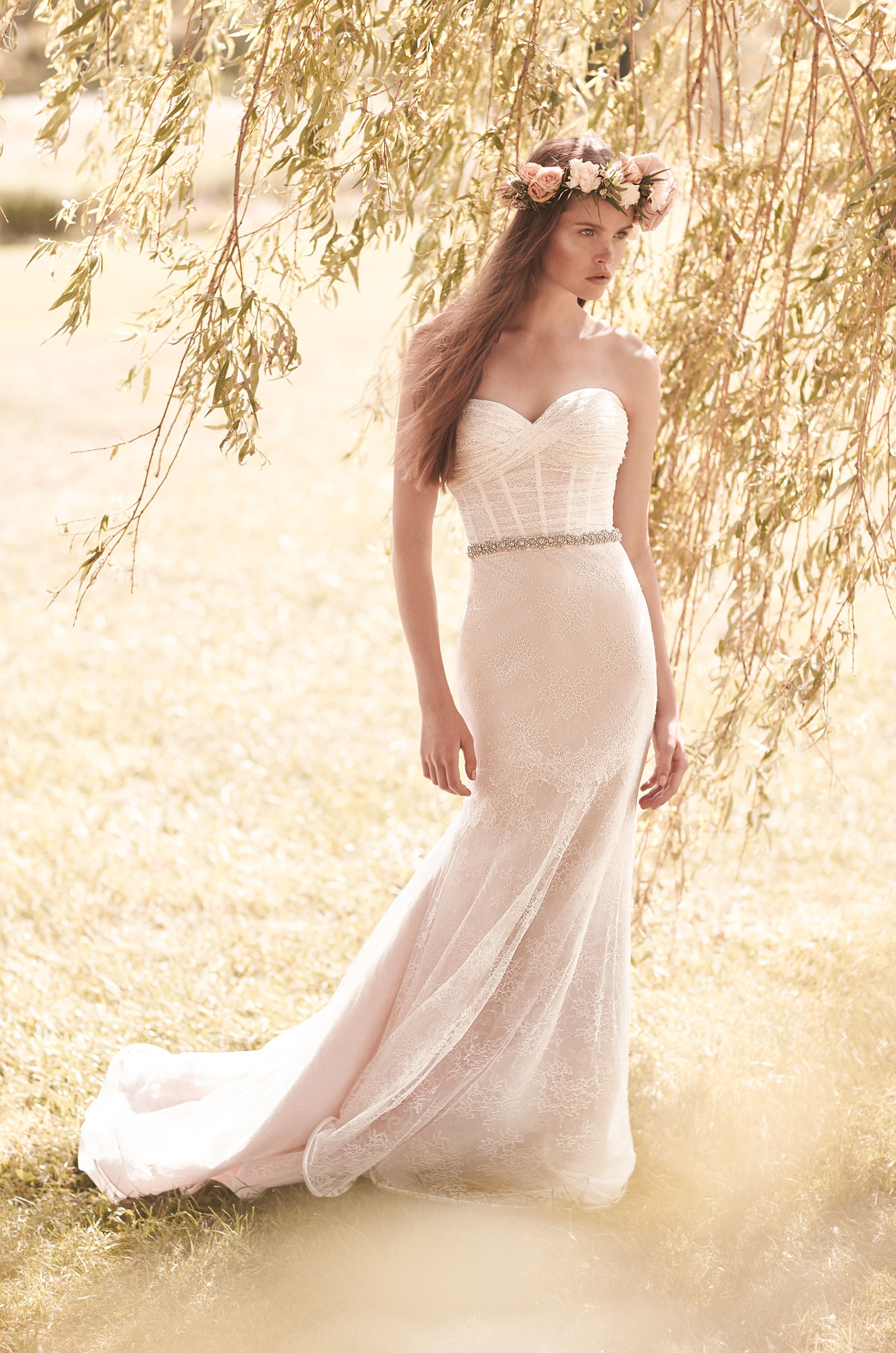 Style 2052 front Mikaella wedding dress Spring Collection_1
